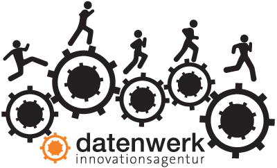 datenwerk Runningshirt-Logo