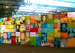 Bunte Wand auf der re:publica 2012