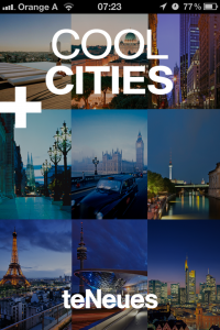 Screenshot der App Cool Cities