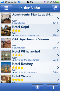 Screenshot der App Holidaycheck