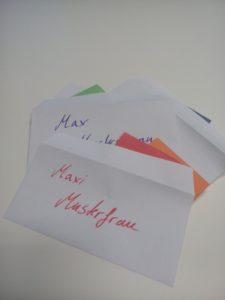 Foto: Briefumschläge mit Namen