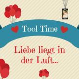 Tool Time - Banner mit Luftballonen und Herzen