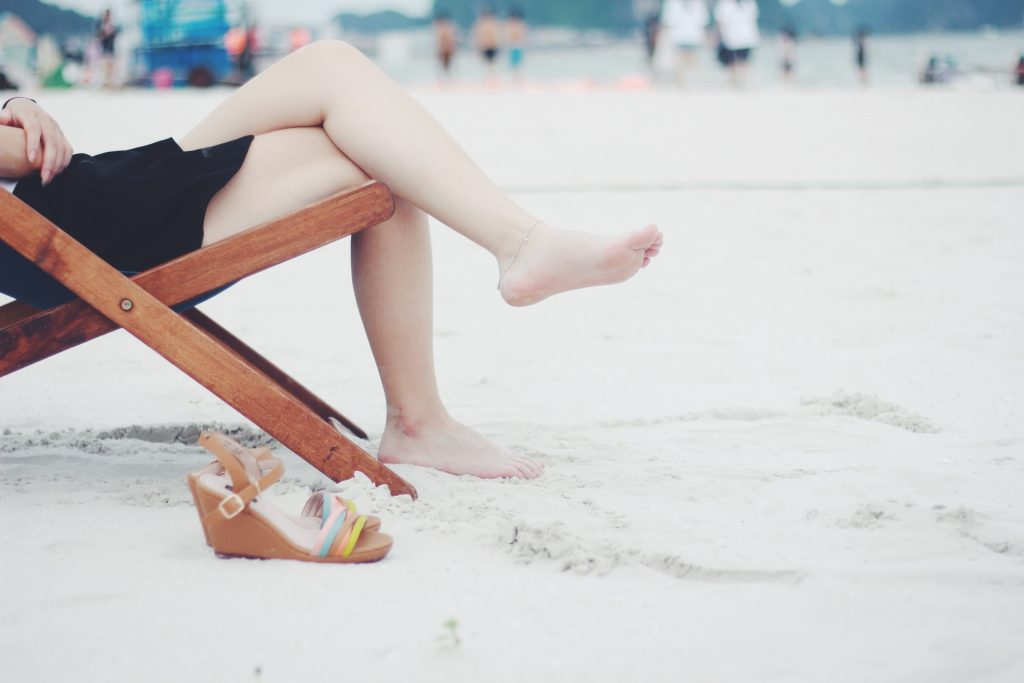 Foto Entspannung am Strand