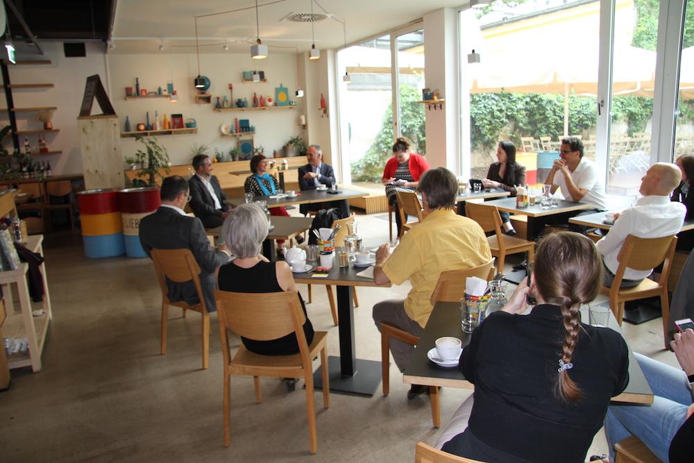 Foto Business Breakfast Krisenkommunikation datenwerk, communication matters, Flughafen Wien