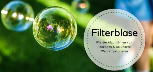 Headerbild zum Beitrag über Filterblasen