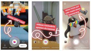 Screenshots Instagram Story