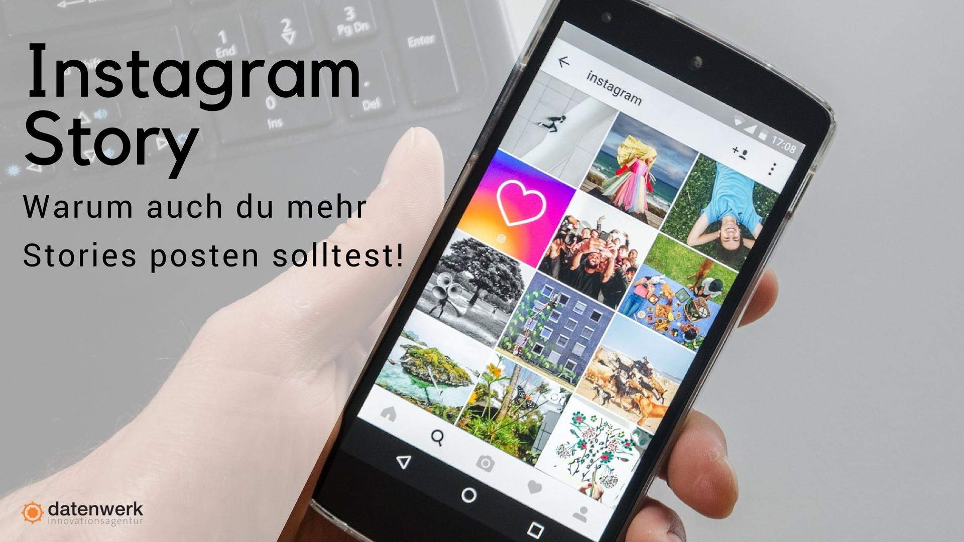 Headerbild Instagram Story