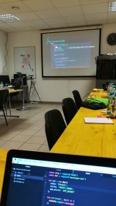 Foto: Chatbot Workshop bei Business Riot