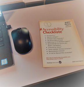 Accessibility Checkliste für Webentwickler