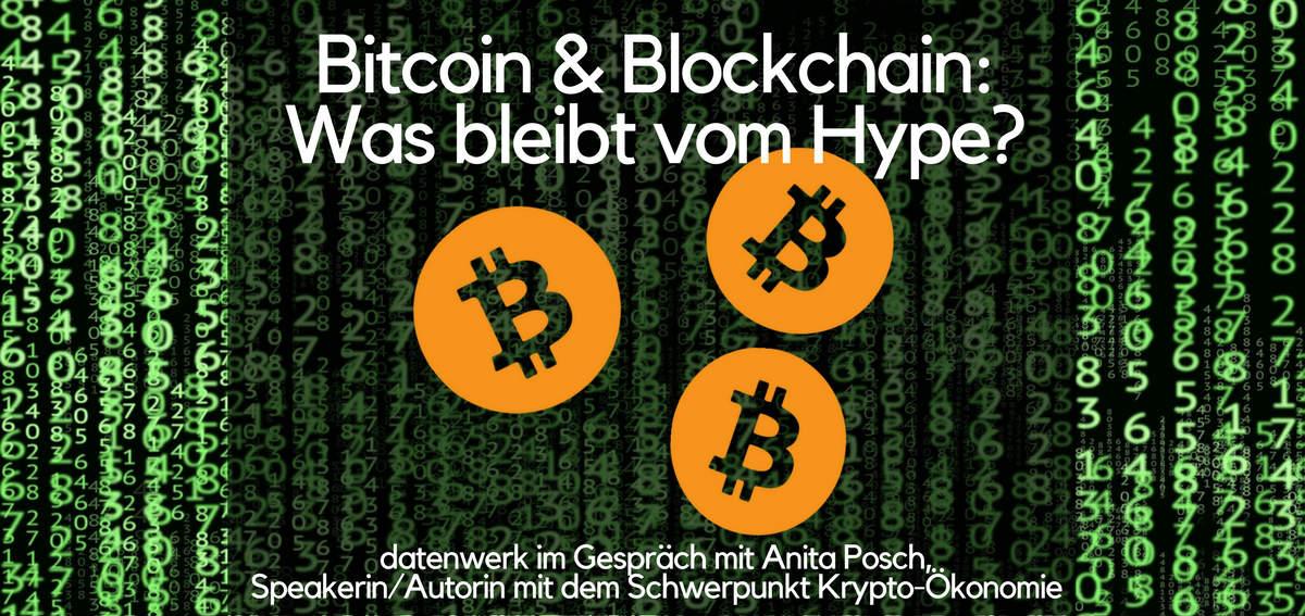 Headerbild zu Bitcoin und Blockchain
