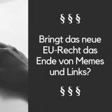 Symbolbild - datenwerks Analyse zum neuen EU-Gesetz zum Copyright