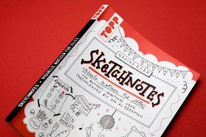 """Foto: Das Cover des Buches """"Sketchnotes. Visuelle Notizen für Alles"""" von Nadine Roßa Bild"""
