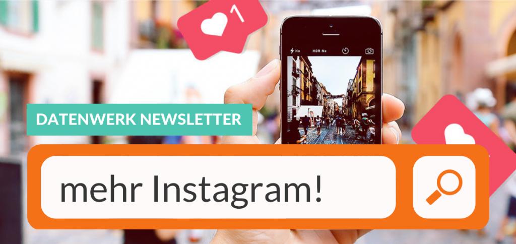 Fotocollage Instagram Newsletter