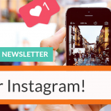 Fotocollage Instagram Newsletter