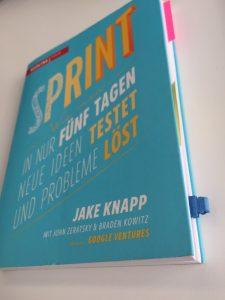 Buch Sprint von Jake Knapp Google Ventures